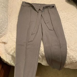 NEVER WORN!!! Grey work pants from the Loft.